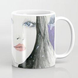 Embracing A Misty Morning Coffee Mug