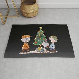 Movie A Charlie Brown Christmas Holiday Christmas  Rug