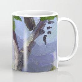 BETTE DAVIS PARK, plein air landscape by Frank-Joseph Paints Coffee Mug