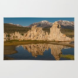 Mono Lake Reflections Rug