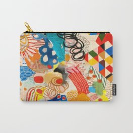 Wallpaper and Diamonds Part I Carry-All Pouch