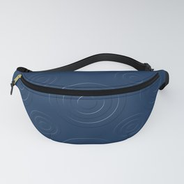 Prussian Blue Bull's Eye Fanny Pack
