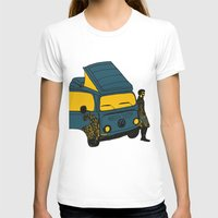 van T-shirts featuring Van by AndaLouz