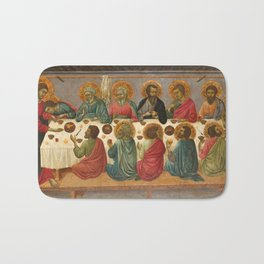 The Last Supper - 14th Century Bath Mat