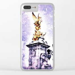 Angel in London Clear iPhone Case