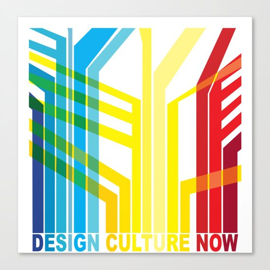 Design Culture Canvas Print