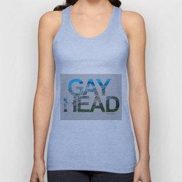 Gay Head Martha's Vineyard in Silver Gray Unisex Tank Top
