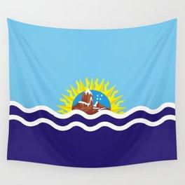 Flag of Santa Cruz Wall Tapestry
