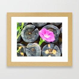 just a lovely flower Framed Art Print