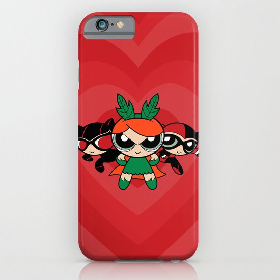 Supervillain Girls iPhone & iPod Case