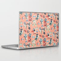 transformer Laptop & iPad Skins featuring Minibots by confinedclone