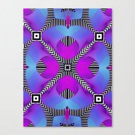 Techno Art Canvas Print