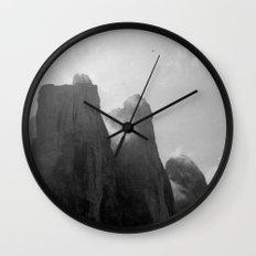 Three Peaks Wall Clock