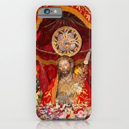 Senhor Santo Cristo dos Milagres iPhone Case