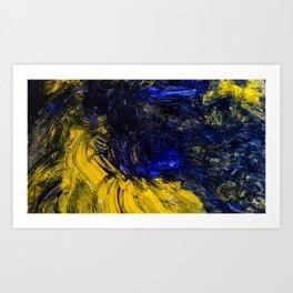 Night deviance Art Print