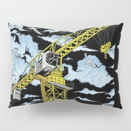 Tower Crane In The SKY Pillow Sham