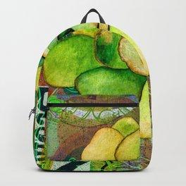Pietra Rosetta Succulent Garden Backpack