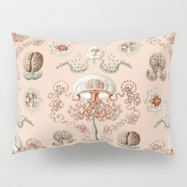 Ernst Haeckel - Jellyfish Scientific Illustration Pillow Sham
