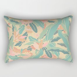 Hawaiian Ginger Floral in Sorbet Rectangular Pillow