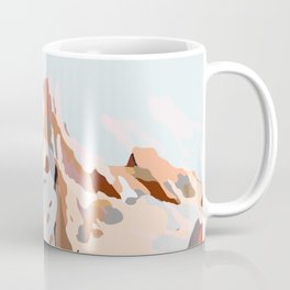 glass mountains Coffee Mug