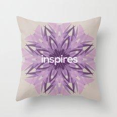 Inspires Throw Pillow