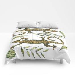 Lady Gecko Comforters