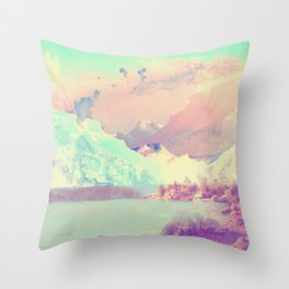 Hardangerfjord Day Throw Pillow