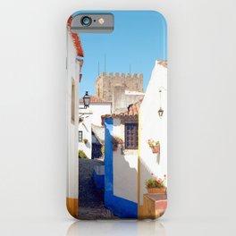 Portugal, Obidos (RR 184) Analog 6x6 odak Ektar 100 iPhone Case