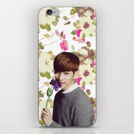 Flower Boy Hyuk iPhone Skin