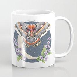 Nocturnal Moth Moon Coffee Mug