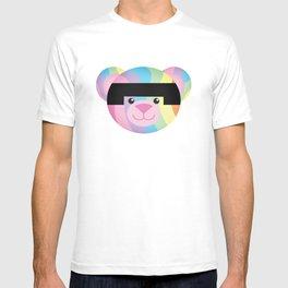 Classic Rainbow Bondage Bear T-shirt