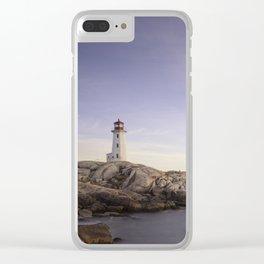 Peggy's Cove, Nova Scotia Clear iPhone Case