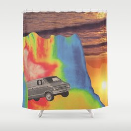 What A Long Strange Trip It's Been Shower Curtain