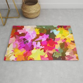 Winterberry #painting #colorful Rug