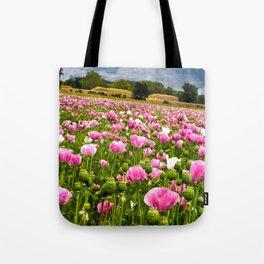 Poppy fields in Holland Tote Bag