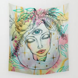 Blissful Bloom Wall Tapestry