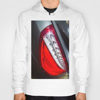 mercedes Hoodies featuring Mercedes-Benz SL 63 AMG Bi-Turbo Back Light by Mauricio Santana