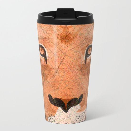 King of Lions Metal Travel Mug