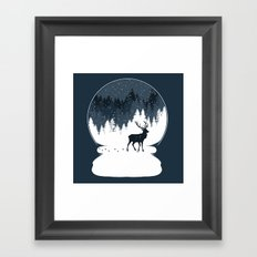 Boule à Neige Framed Art Print