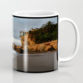 The Lookout over the Beach Coffee Mug