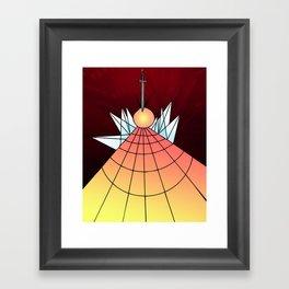 Cloven Orb Framed Art Print