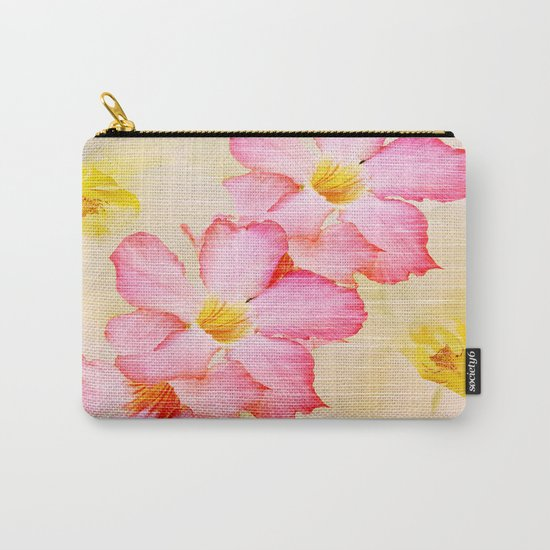 Desert Rose and Orchids  Carry-All Pouch