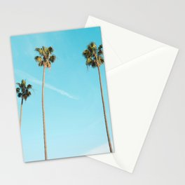 Tropical Miami Palm Trees Stationery Cards