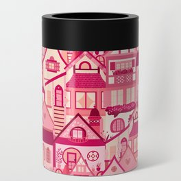 Pink Little Town Can Cooler