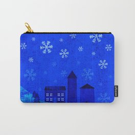 Snowy night Carry-All Pouch