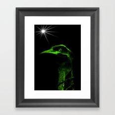 Mr Emu Framed Art Print