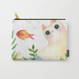 The Aquarium Cat Carry-All Pouch