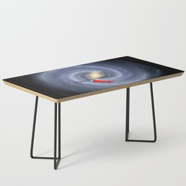 You are Here (improved version) Coffee Table
