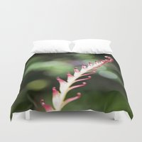 plant Duvet Covers featuring plant by Maryann Worrall