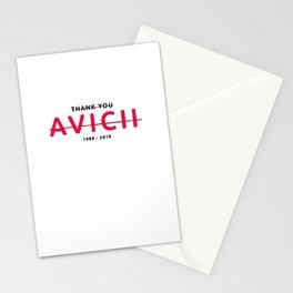 Thank you Avici b Stationery Cards